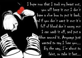 Emo Love Quotes Delectable Sad Emo Quotes And Sayings Friendship Quotes Zimbio