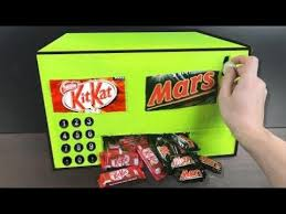 How To Make A Chocolate Vending Machine Custom HOW TO MAKE A CHOCOLATE VENDING MACHINE HOMEMADE HD YouTube