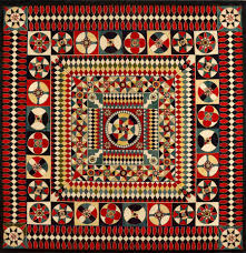 The Centuries-Old Tradition of Military Quilting Is Getting Its ... & Soldier's Quilt, artist unidentified, probably a British soldier or sailor,  Crimea, India, or United Kingdom, 1850–1880, (American Folk Art Museum, ... Adamdwight.com
