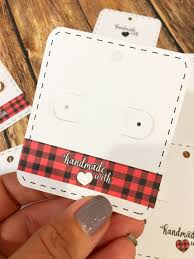 Free Leather Templates Free Silhouette Earring Card Templates Set Of 8