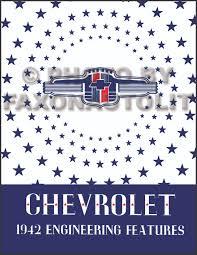 1942 1948 chevrolet car and 42 46 truck wiring diagram manual reprint 1942 chevrolet engineering features manual reprint