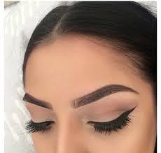makeup eyebrows and beauty image