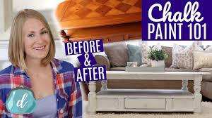 Diy Farmhouse Table Best Way To Chalk Paint Furniture