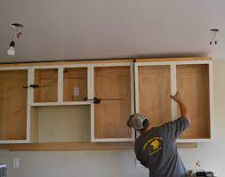 installing kitchen cabinets momplex