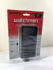 sony tv old. sony watchman fd-230 portable 2.7\ tv old