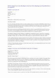 Examples Of Cover Letter For Resume Elegant Examples Resume Cover ...