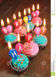 birthday cupcake candles blue. Exellent Candles Pink And Blue Icing Cupcakes With Candles Saying Happy Birthday Throughout Birthday Cupcake Candles Blue O