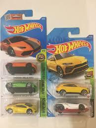 New 2021 matchbox 2018 bugatti divo/hot wheels '16 bugatti chiron lots of 4. Hot Wheels Lamborghini Lot Of 5 Toys Games Diecast Toy Vehicles On Carousell