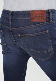 Lee Malone Slim Fit Jeans Blue Notes Men Clothing Dark