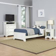 Cool Twin Beds Ideas For Children Boy Bedroom With Barcelona Nice White  Polished Wood Single Panel ...