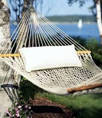 Enjoy a quiet afternoon in the garden with this hammock designs