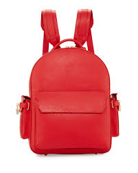 buscemi phd men s leather backpack