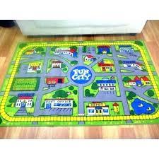 superb childrens rug road play mat map rugs giant kids city car carpet foam children large