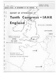 Tenth CoJ1'7gres~ - IAH R