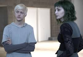 the gifted l r percy hynes white and emma dumont in the calamity of the gifted airing tuesday feb 5 9 00 10 00 pm et pt on fox