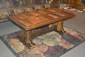 Alpine Barnwood Coffee Table
