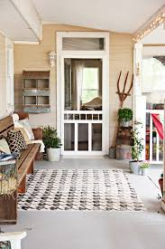 it started with a freshly painted surface we cleared the porch scrubbed it and gave it a new coat of paint it s so good to have that floor clean again