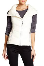 bnci by blanc noir mixed media vest dark grey heather vests 100 polyester oiu 19081