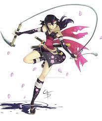 Mysterious Ninja Girl.. by MadiBlitz on DeviantArt | Ninja girl, Magical girl  anime, Cat girl