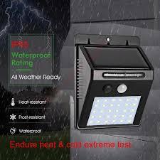 Does Cold Weather Affect Motion Lights 1 4pcs 30 40 Led Solar Power Lamp Pir Motion Sensor Wall Light Outdoor Waterproof Energy Saving Street Garden Yard Security Lamp