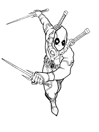 Download and print these deadpool coloring pages for free. Deadpool 2 Coloring Pages Below Is A Collection Of Deadpool Coloring Page Which You Can Download Coloring Pages Coloring Pages For Kids Cartoon Coloring Pages