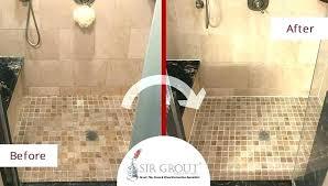 shower tile grout sealer popular bathroom best regarding 13