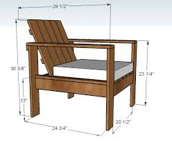 diy rustic furniture plans. Charming Outdoor Wood Furniture Plans Ana White Simple Lounge Chair Diy Projects Rustic
