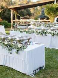 Wedding Food Tables How To Have A Private Estate Wedding For 300 Without Over Spending