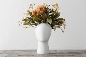white wig flower vase – crowdyhouse