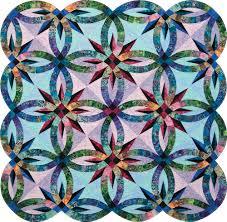 Quiltworx Bali Pops & ... Gem-Stone-Wedding-Star-Quilt-Color-Corrected Diamond-Wedding-Ring Adamdwight.com
