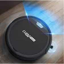 Robot hút bụi lau nhà thông minh CLEAN ROBOT tự động hút bụi lau nhà, cảm  biến chống va chạm, bảo hành 6 tháng
