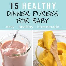 Meal Plans Baby Foode