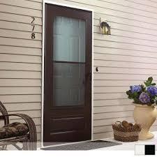 100 series 3 4 view self storing storm door