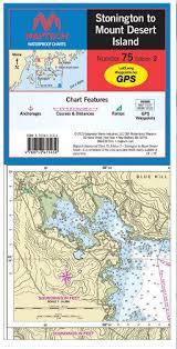 Maptech Waterproof Charts Maine Chart 75 Stonington To Mount Desert Island