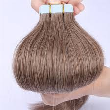 factory double drawn tape in hair