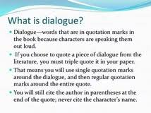 dialogue essay example dialogue essay