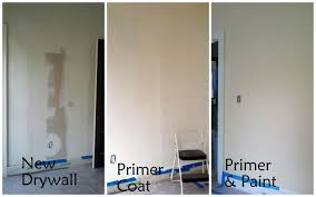 drywall primer and paint