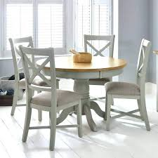 4 chair wooden dining table round extending dining table painted light grey round extending dining table 4 chair wooden dining table