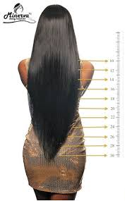 Hair Length Chart Bundles Pin By Leona On Hairstuff In 2019 Hair Inches 20 Inch