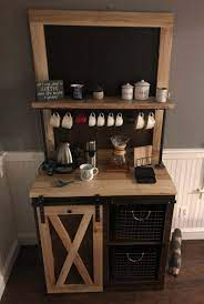 My wife and i also liked the idea of a coffee bar holding all of our coffee things separate from the kitchen. 28 Best Coffee Bar Ideas To Kickstart Your Days In 2021