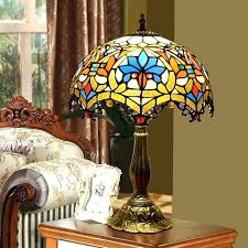 stain glass table lamps stain glass lamp baroque vintage stained glass table lamp living room bedroom stain glass table lamps