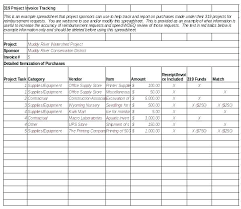 Purchase Order Tracking Template Excel Invoice Sheet Danielmelo Info