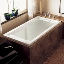 Bathtubs - Evolution 60 Inch by 36 Inch Deep Soak Bathtub - White