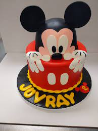 mickey mouse birthday cake rolands