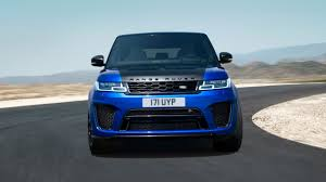New Range Rover SVR - Overview - Land Rover