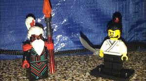 Lego Ninjago season 12 Unagami confronts Okino scene recreation - YouTube