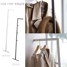 Slim Coat Rack Craseal Rakuten Global Market Slim Coat Hanger Line Line White 49