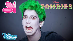 z o m b i e s zombie make up tutorial official disney channel uk