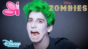 z o m b i e s zombie make up tutorial official disney channel uk