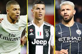Lionel Messi Battling Kylian Mbappe Cristiano Ronaldo And